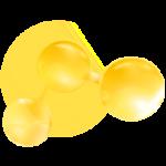 yellow-molecules-icon