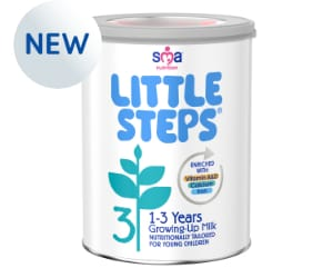 LITTLE STEPS Growing Up Milk