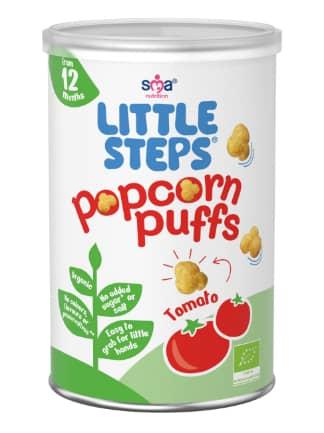 LITTLE STEPS popcorn Puffs - Tomato