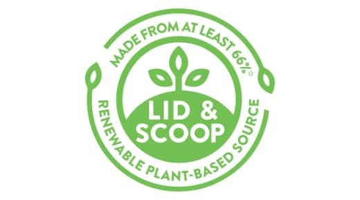 Lid & Scoop sustainability logo