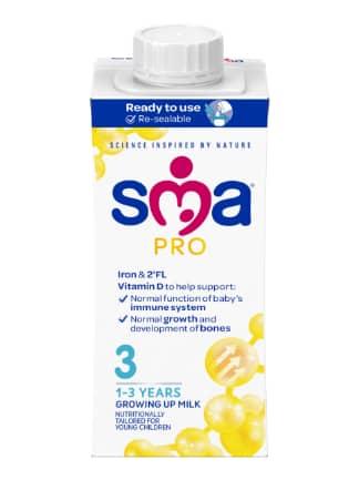 SMA PRO Growing Up Milk 200 ml